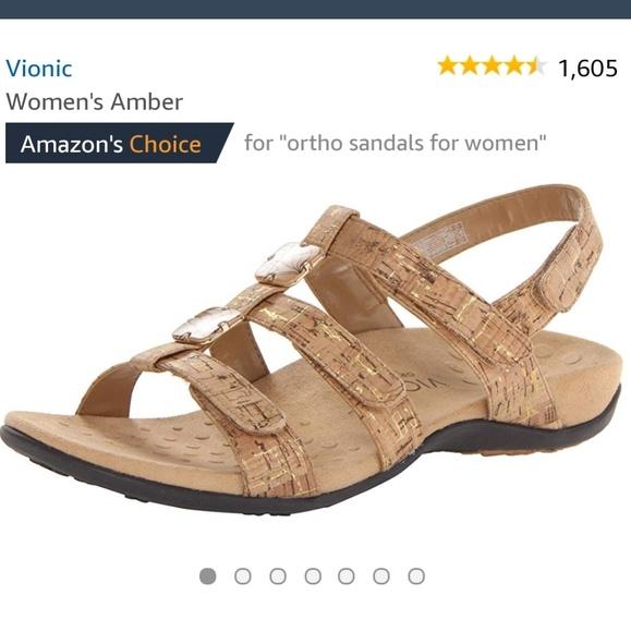 ceb7ff92e9b9f Vionic Amber Ortho Sandal